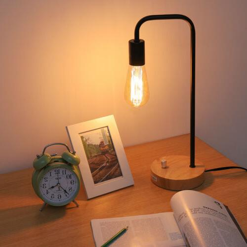 HAITRAL Industrial Table Lamp for