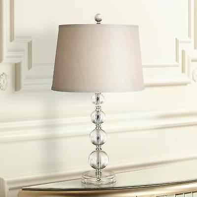Herminie Stacked Ball Acrylic Table Lamp by 360 Lighting