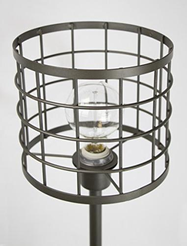 Grandview Industrial Cast Iron ft. Cage Shade Edison Bulb Modern