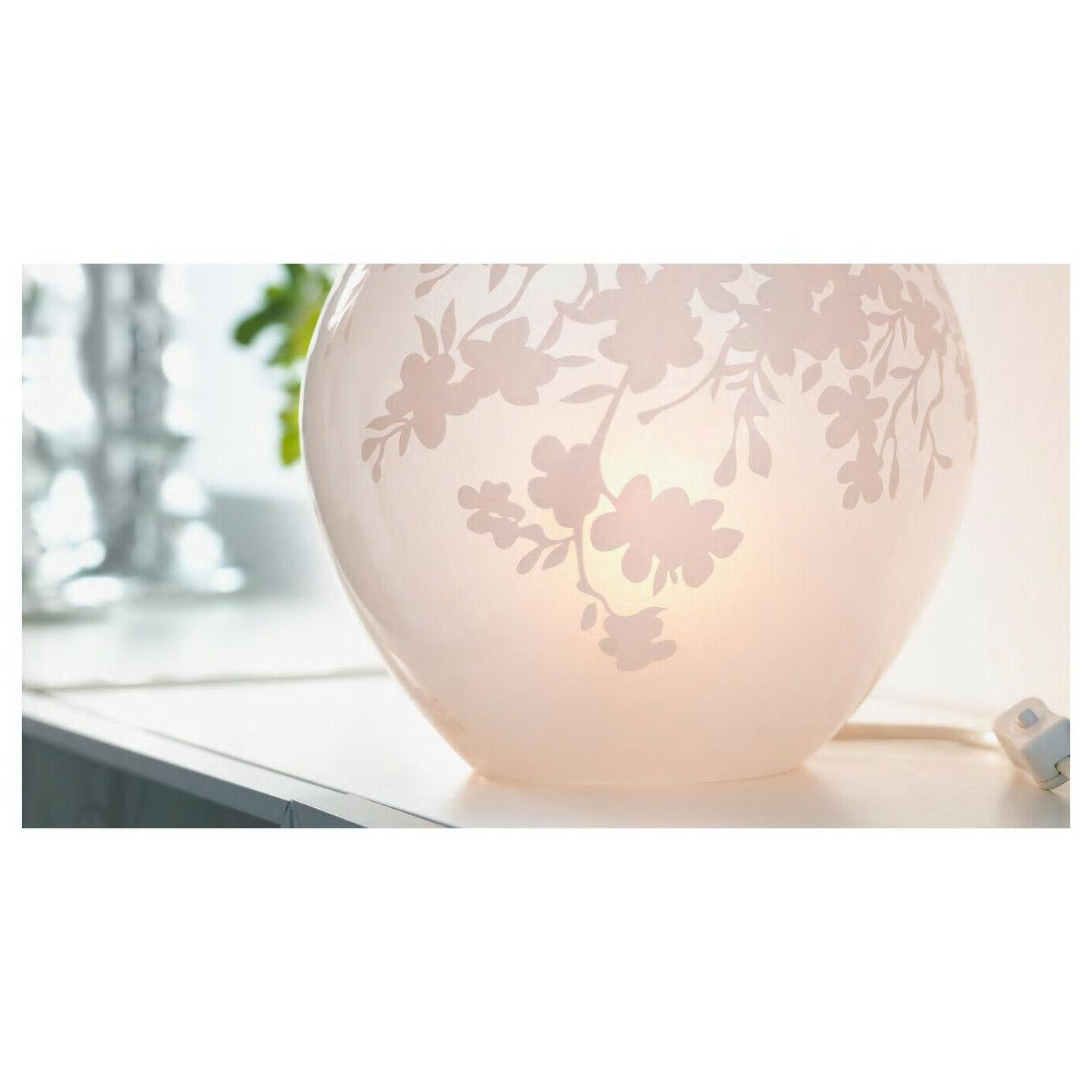 """Ikea KNUBBIG Round Glass Table Cherry-Blossoms 7"""" -"""