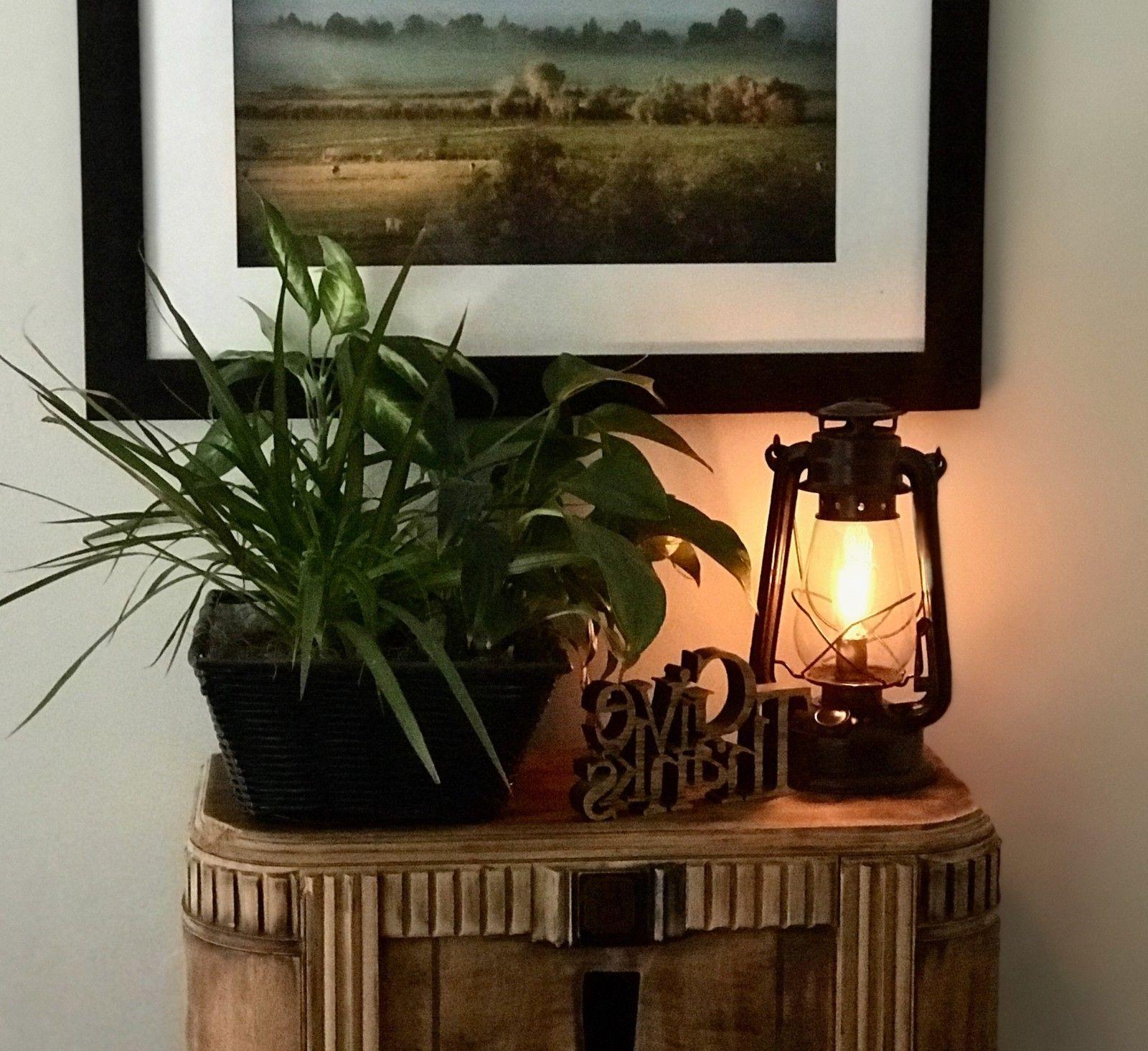 Lantern Dimmable Rustic