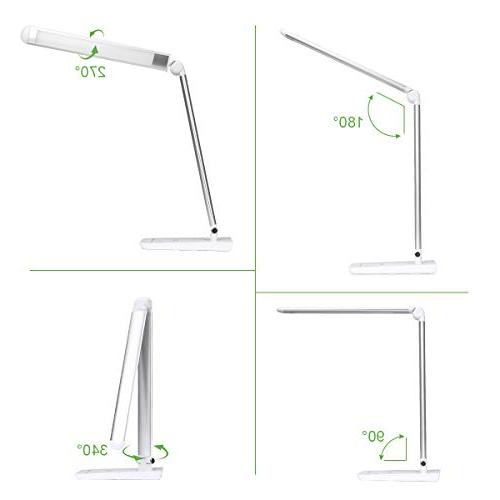 LE Dimmable Lamp, 7-Level Brightness Soft Care Daylight Natural Light, High intensity Office Computer Work