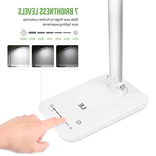 LE LED Lamp, Soft Eye Care Daylight Natural High intensity Office Lamp Computer Work