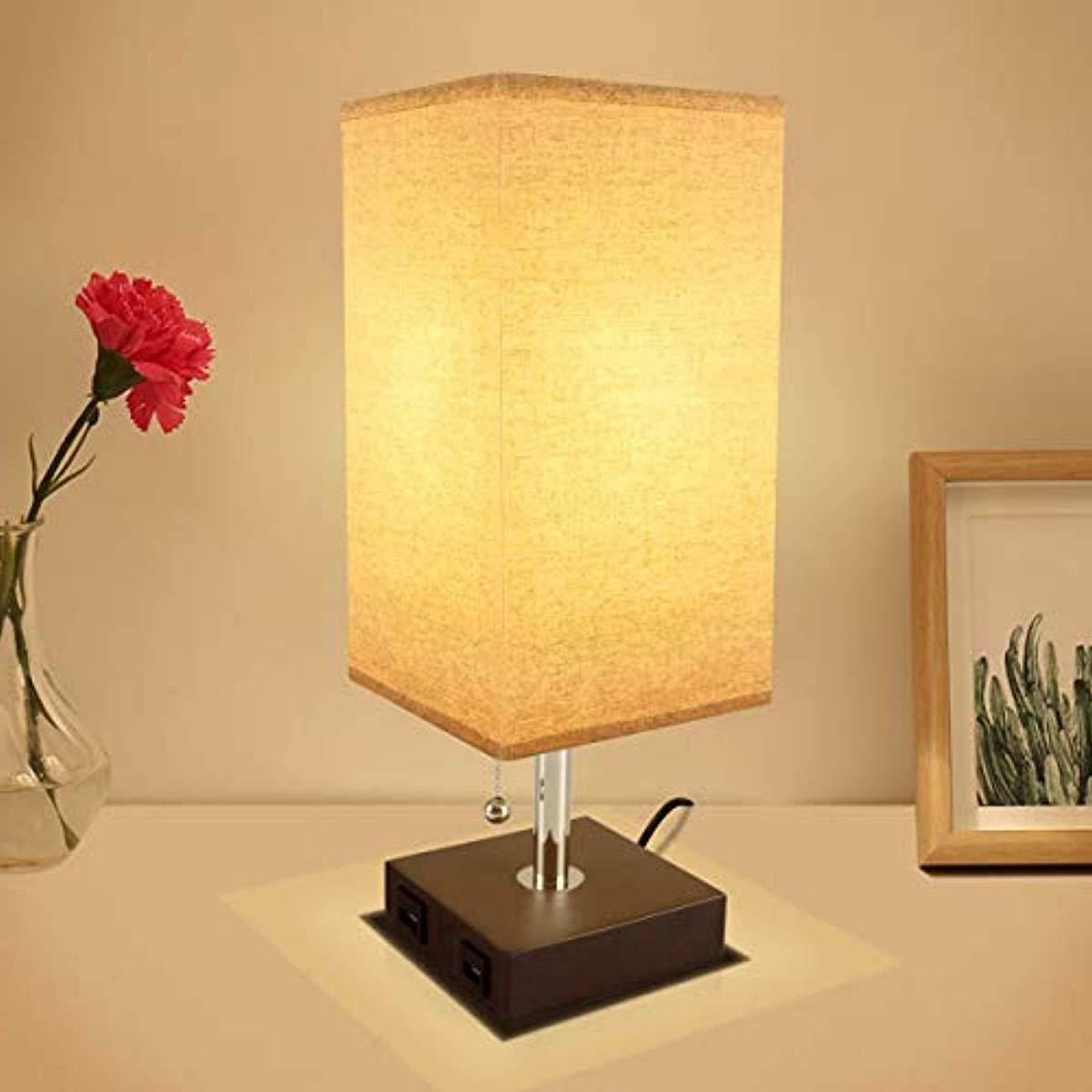 USB Table Lamp, Acaxin Dual Quick Port,