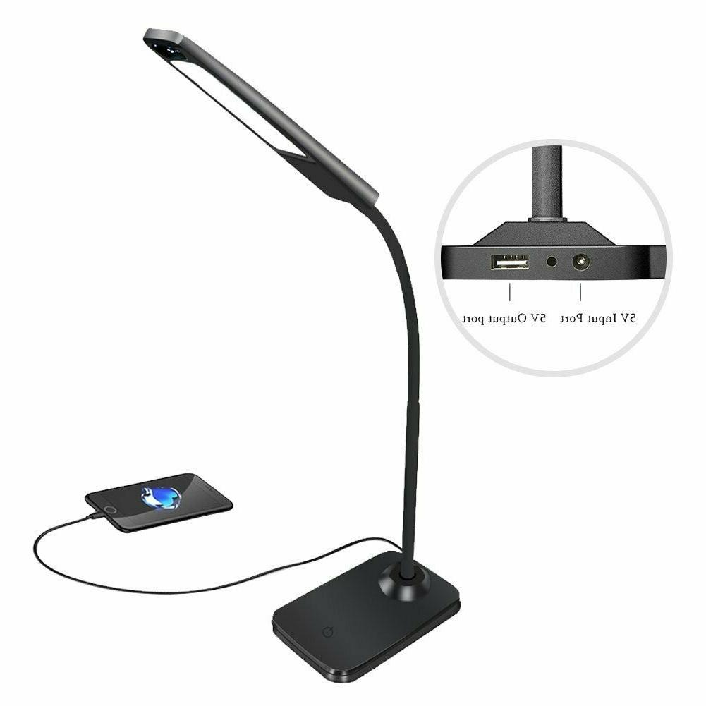LED Desk Lamp, Control Table with USB Port
