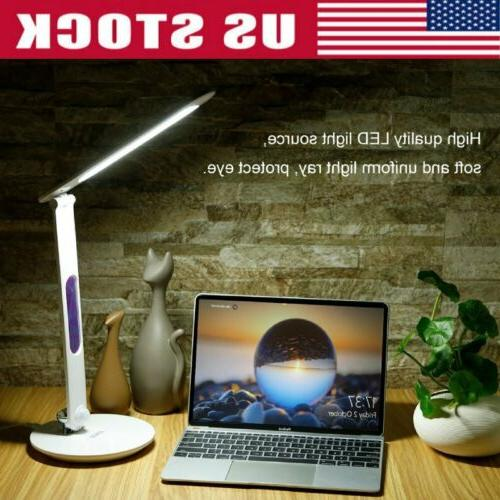 LED Desk Touch Dimmable Table Reading Foldable Calendar