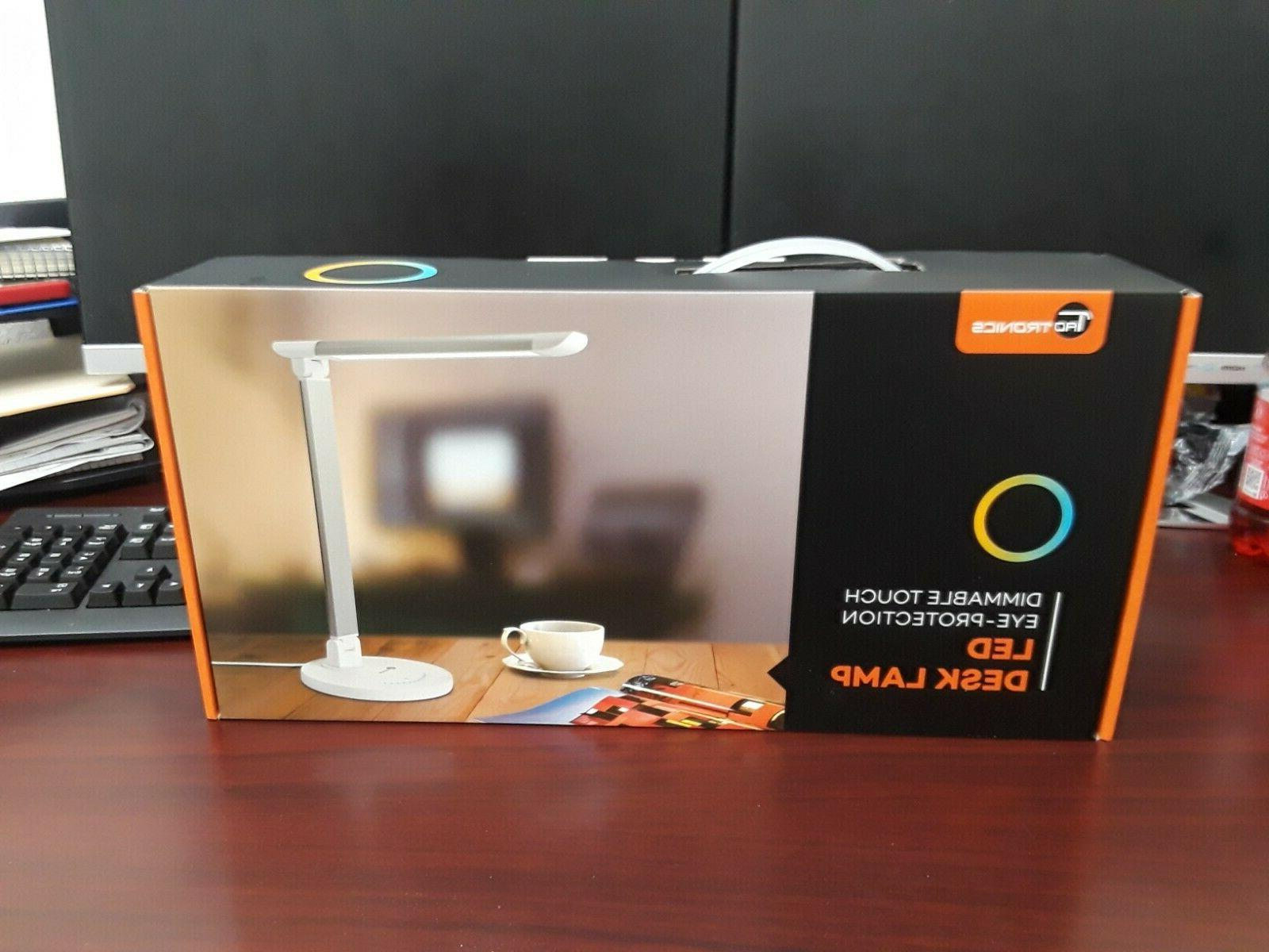 led desk lamps eye caring table lamps