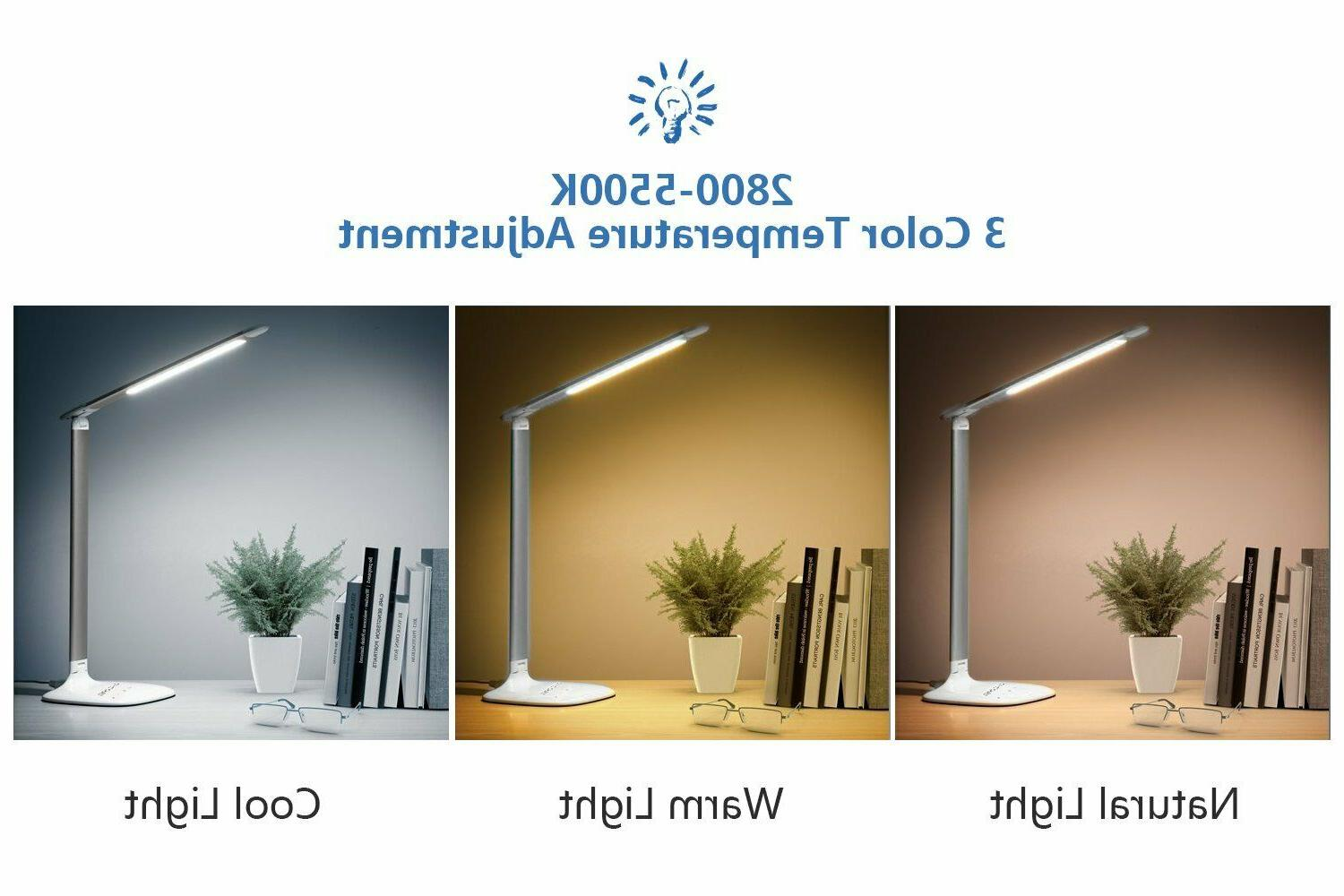 LED Dimmable Lamp Table Eye-Caring Reading