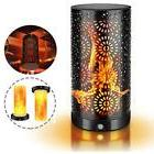 LED Flame Effect Light, Rechargeable Small Table Lamp Party
