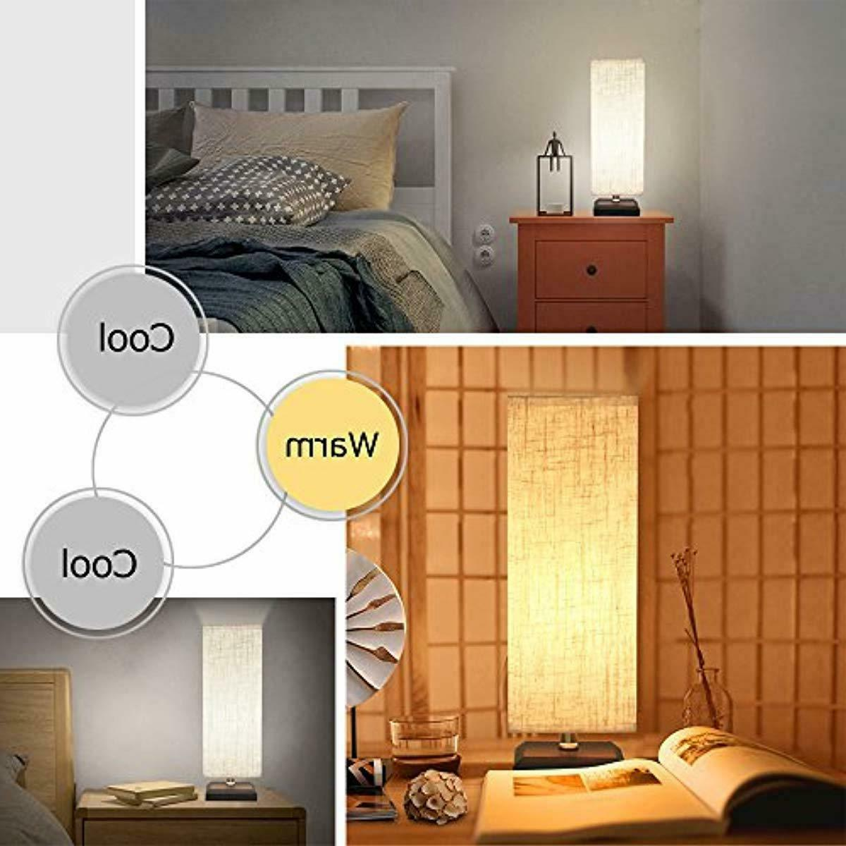 Lifeholder Table Lamp, Lamp with NO USB Charging Warm Led