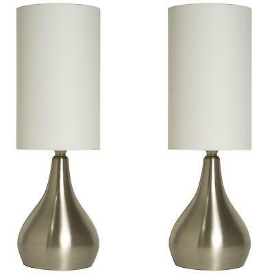 Light Accents Touch Table Lamp Modern 18 inches Tall, Touch