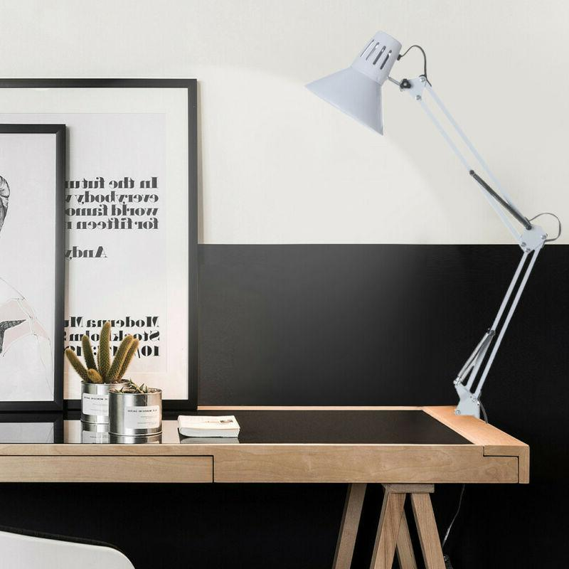 Swing Desk Architect Drafting Table On LED Arms