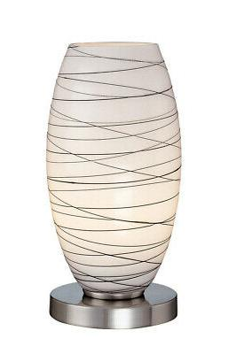 Lite Source LS-20855 Giacomo Table Lamp, Polished Steel with