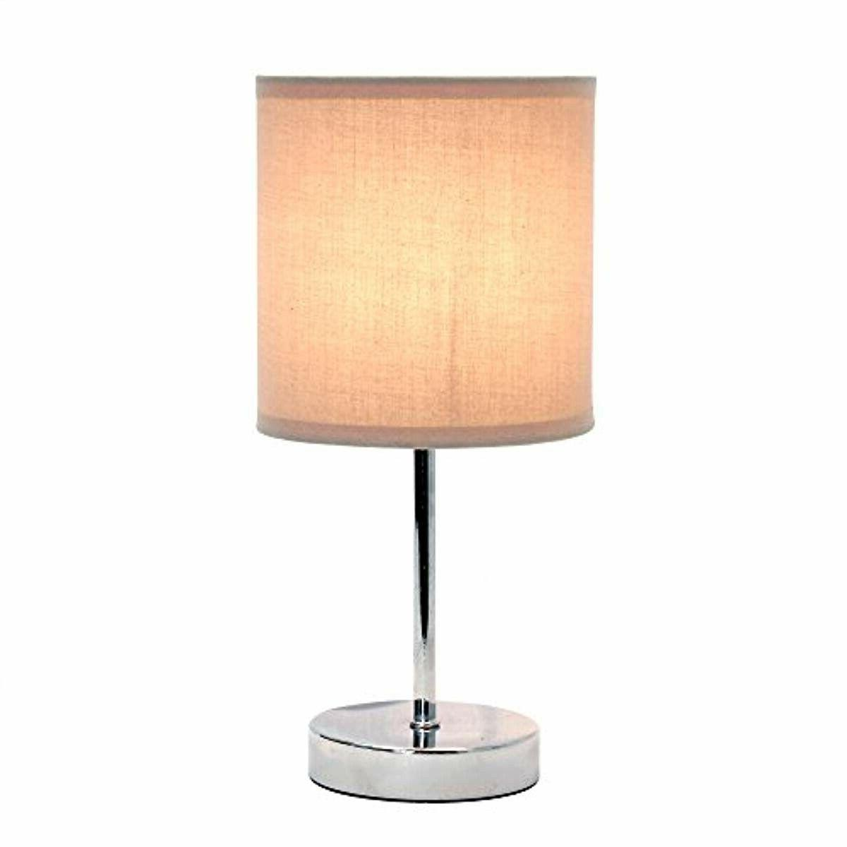 Simple Home LT2007-GRY Simple Basic Lamp with