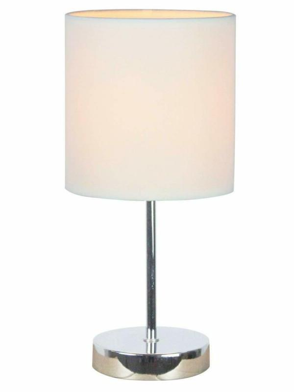 lt2007 wht mini basic table lamp white