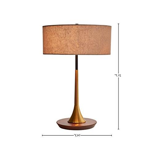 Rivet Curved Table Lamp, and