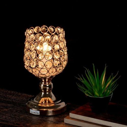 HAITRAL Lamp Crystal Modern Frame