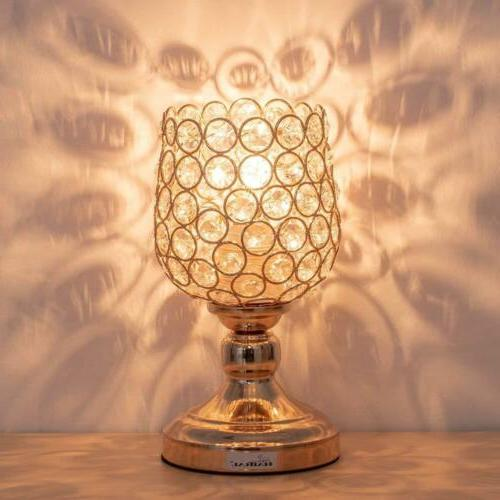 mini table lamp crystal lamps modern night