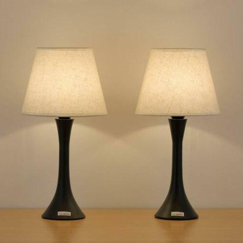 set of 2 table lamp bedroom living