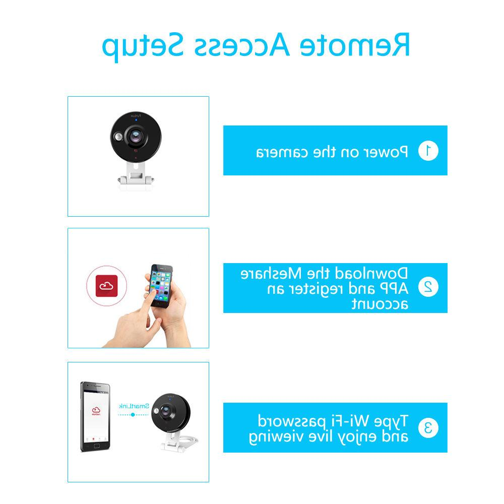 Funlux® 720P HD Wireless Security Free App