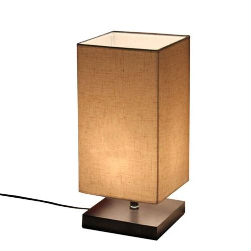 Surpars House Minimalist Solid Wood Table Lamp Bedside Desk