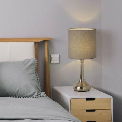 HAITRAL Table Lamp Bedroom Beside Nightstand Set 2