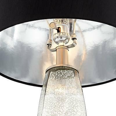 Modern Table Lamps of Glass Black Room
