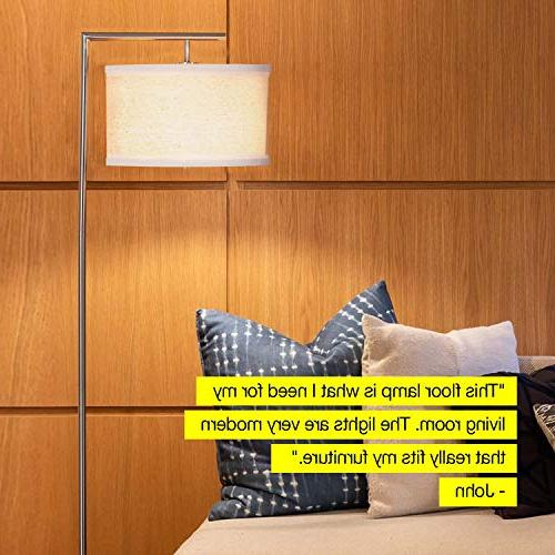 Brightech Montage Floor Room Standing with Hanging - Tall for Bedrooms, Family – LED Bulb -