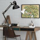 Multi-Joint Swing Arm Desk Lamp Clamp on Table Light with Me
