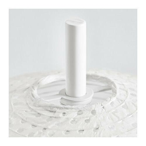 NEW IKEA SOLLEFTEA RICE PAPER TABLE LAMP WHITE FOR SOFT,COZY ATMOSPHERE