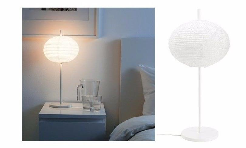 new solleftea shade rice paper table lamp