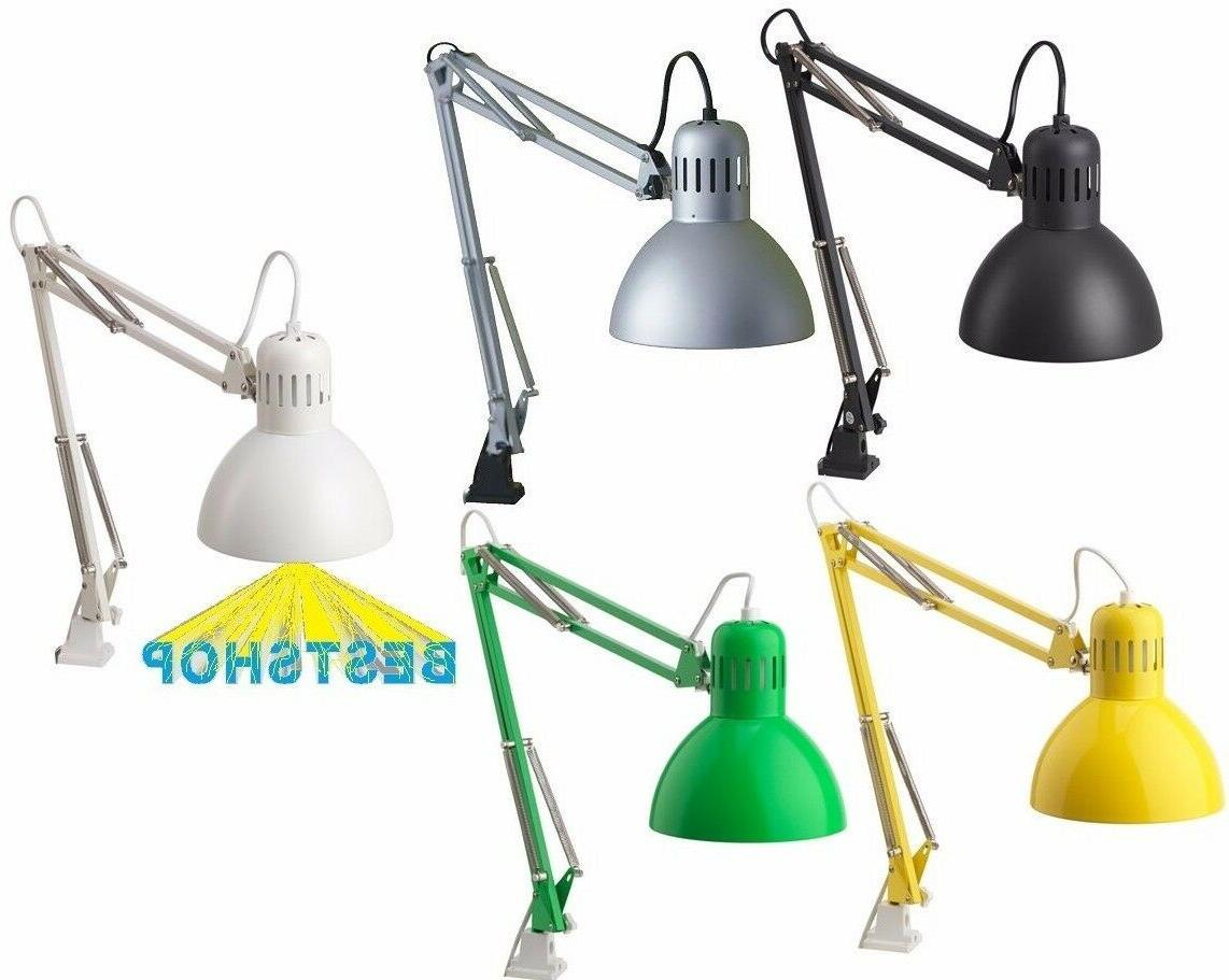 NEW IKEA TERTIAL TABLE WORK LAMP DESK LAMP ARM AND HEAD ARE