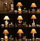 Glitzhome Novelty 8 Designs Vintage Antique Table Lamp Offic