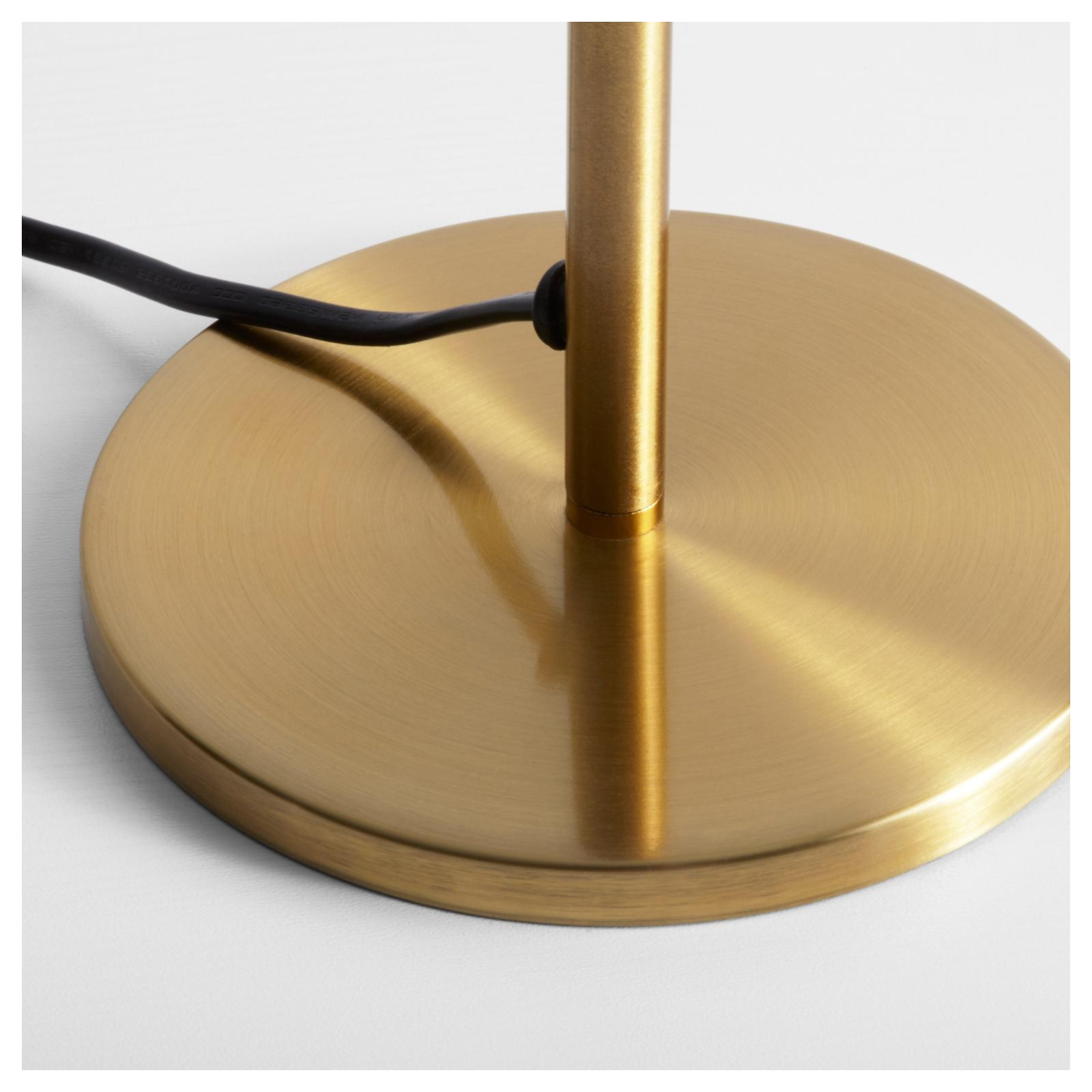 Ikea Table Base Brass Color 503.027.50 NEW