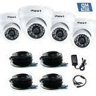 Security Cameras 4 Pack Indoor Dome Wide Angle Night Vision