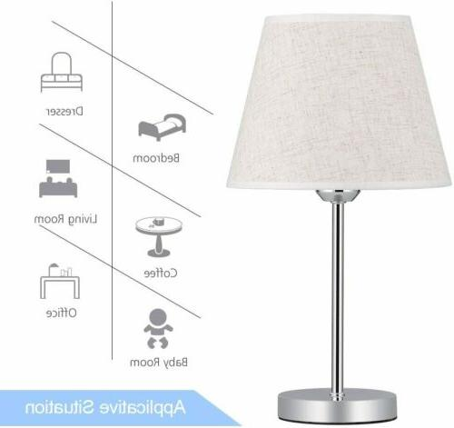 Set of Small Table Lamp Nightstand Lamp Living Room