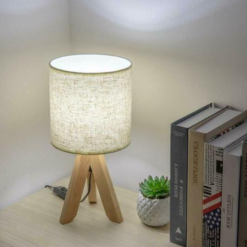 Small Wooden with Fabric Linen