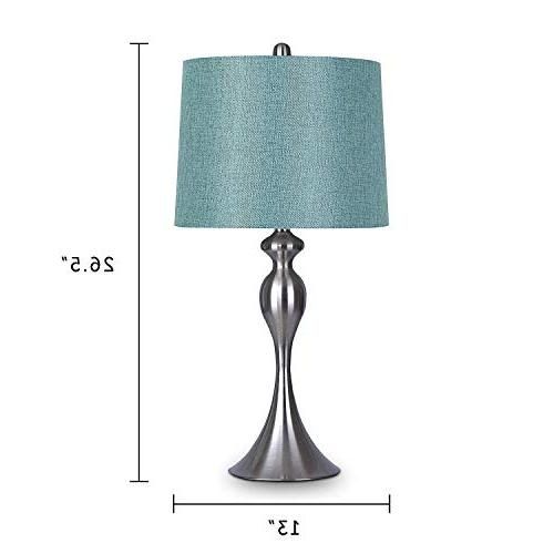 Grandview Gallery with Turquoise of 2 – Linen and Brushed Table for Dressers and –