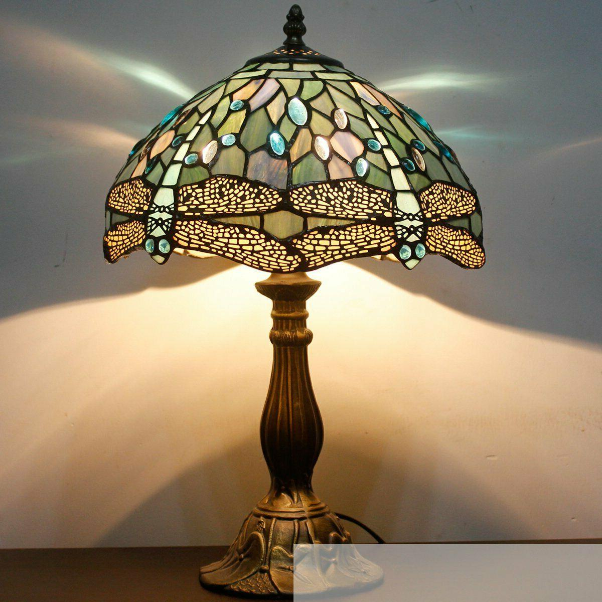 Tiffany Sea Stained Bead Lamps