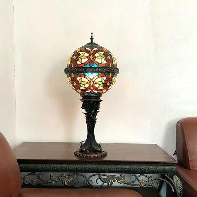 Stained Glass Chloe Lighting Victorian 1 Light Table Lamp CH