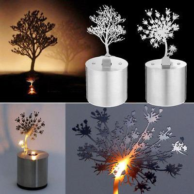 Stainless Steel LED Table Lamp Home Cafe Shop Bedside Decor
