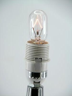 """Stainless Steel Lamp, 12.6"""" Color Shade Base"""