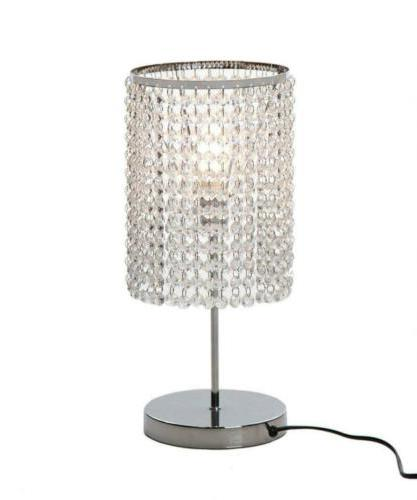 Surpars House Elegant Crystal Silver Table Lamp Lamps Lighti