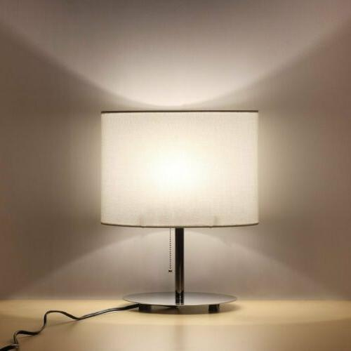 Table Lamp Metal Lamp with Shade Bedroom