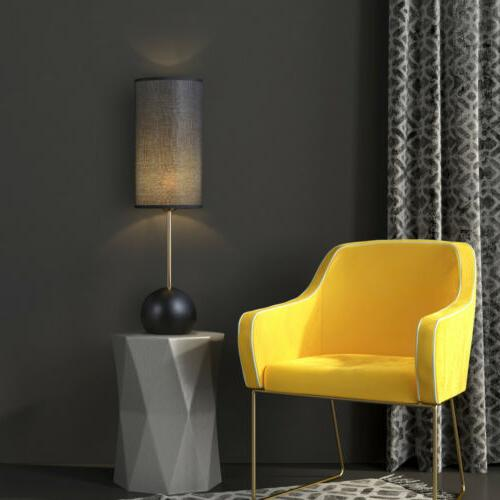 with Black lampshade Stable Spherical Base