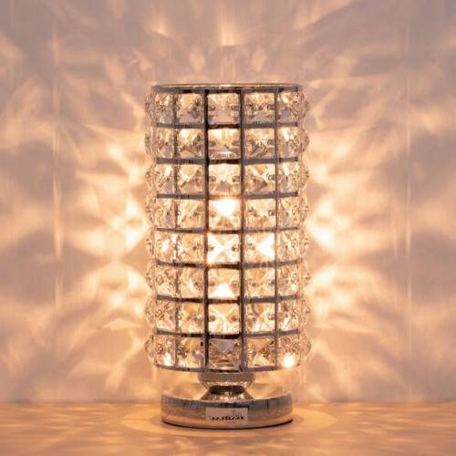 Table Lamp Modern Night Light Lamp,Metal Frame Bedroom,Liv