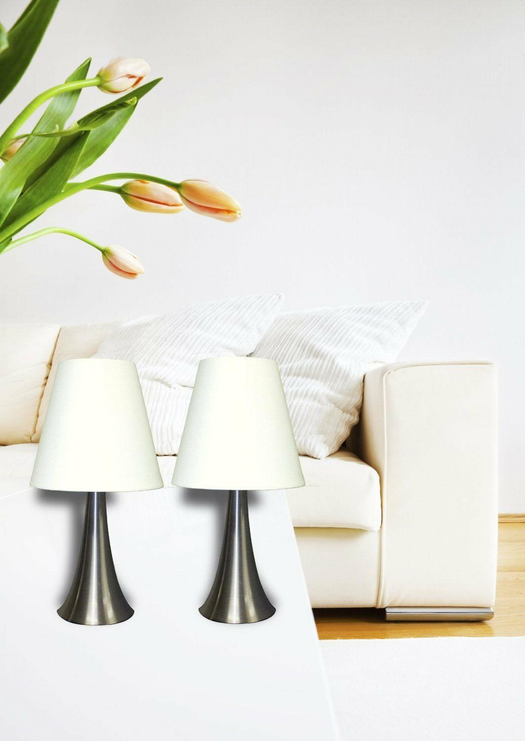 Table Lamps Bedroom Nighstand Teens Bedside Touch