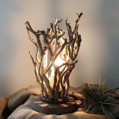 tree branches 1 light twig bedside table