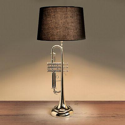 Trumpet - Musical Instrument Accent Lighting with Black