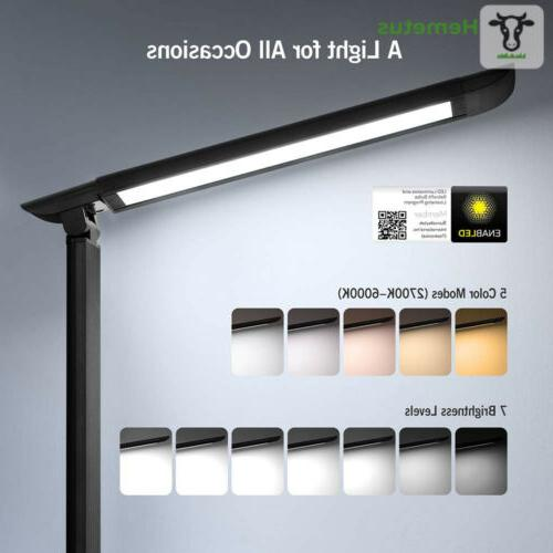 Lamp Table Dimmable Black